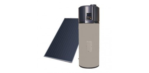 KIT Heat pump AQS stainless steel 200L + Thermal Solar Atl.2000