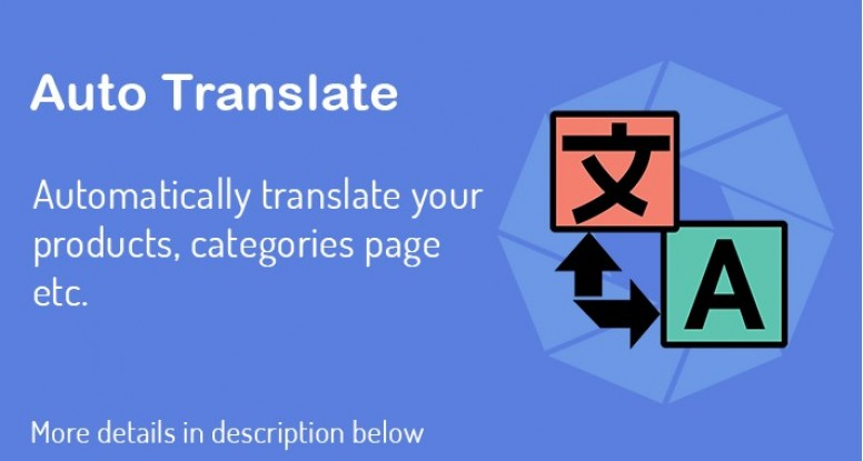 Auto Translate - OpenCart