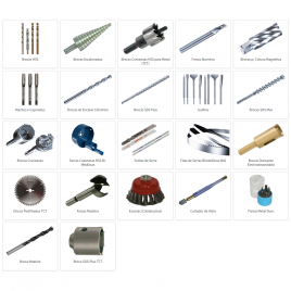 Drills, Mills, Saws and Other Cutters