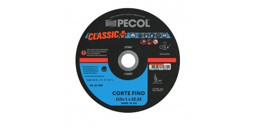 Classic Plus Fine Cutting Disc 115x1 - PECOL