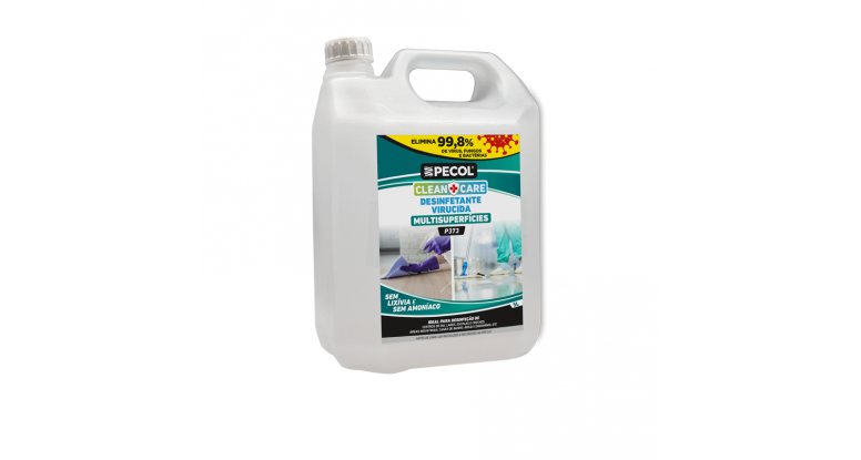 P373 Multisurface Disinfectant CLEAN+CARE 5L - PECOL